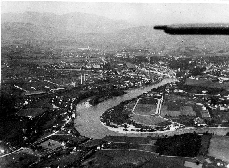 Luftaufnahme von Steyr