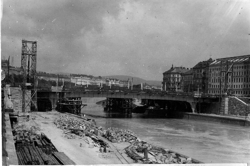 Die neue Augartenbrücke in Wien