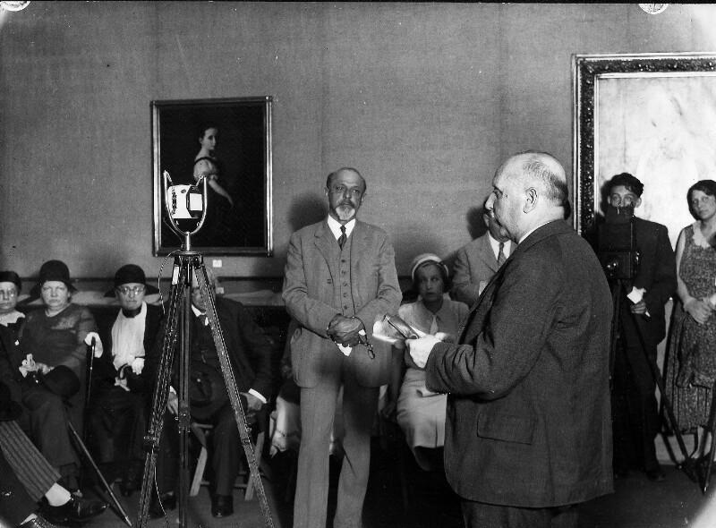 Eröffnung der Johann-Strauß-Ausstellung im Hagenbund