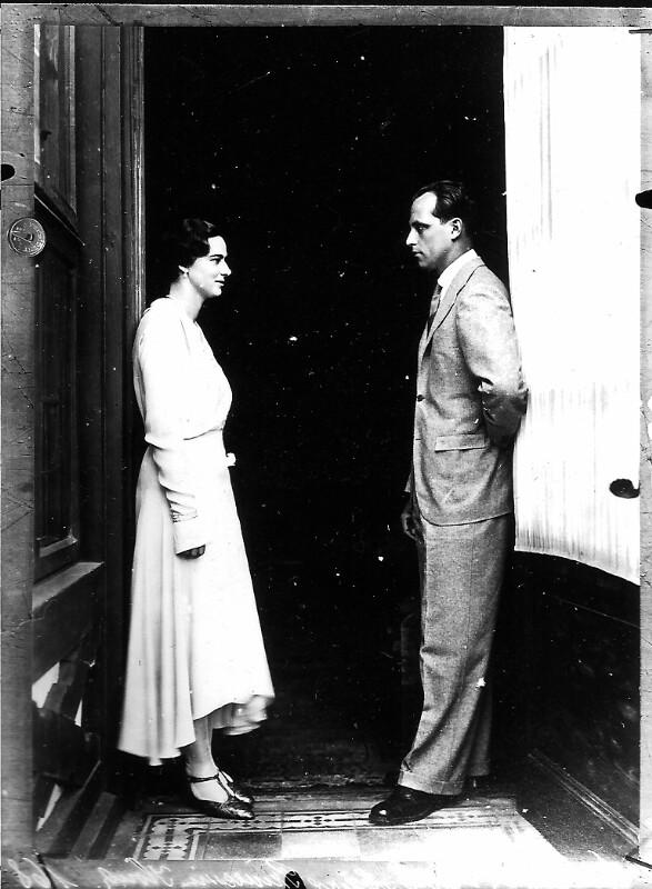 Anton von Habsburg und seine Verlobte, Ileana von Rumänien