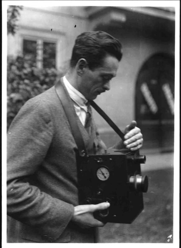 Mroz, der Erfinder der Farb-Kinematographie