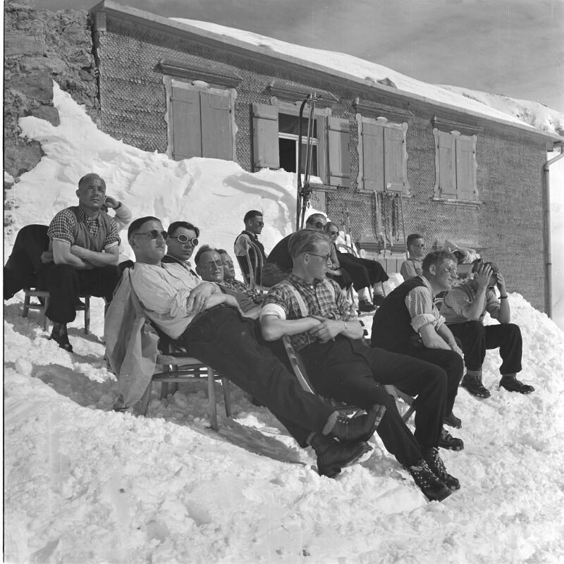 Douglass-Hütte im Rätikon