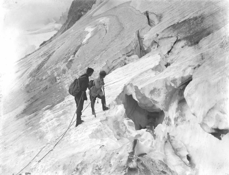 Gletscherspalten am Litzner Ferner