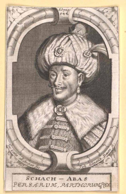 Abbas I. der Große, Schah von Persien