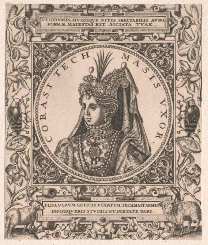 Corasi, Königin von Persien