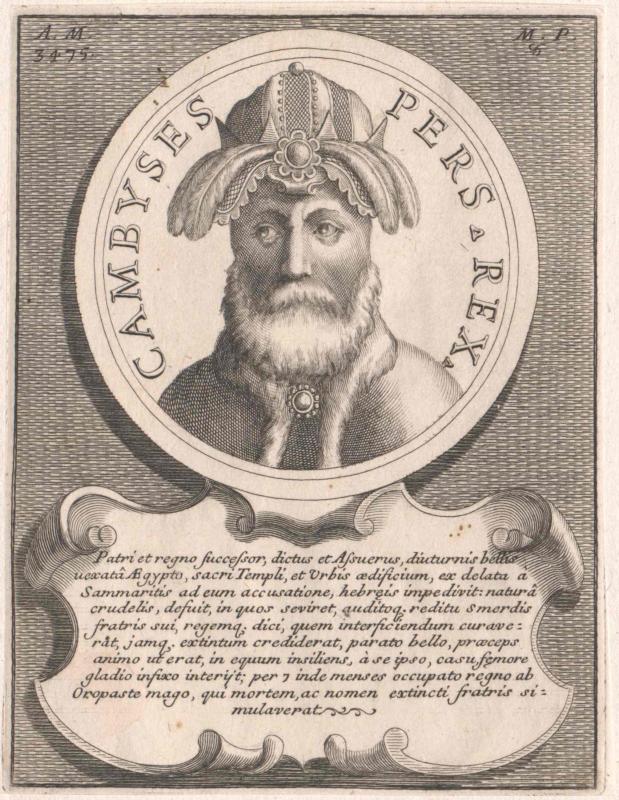 Cambyses, Großkönig von Persien
