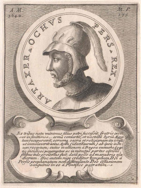 Artaxerxes III. Ochos, König der Perser