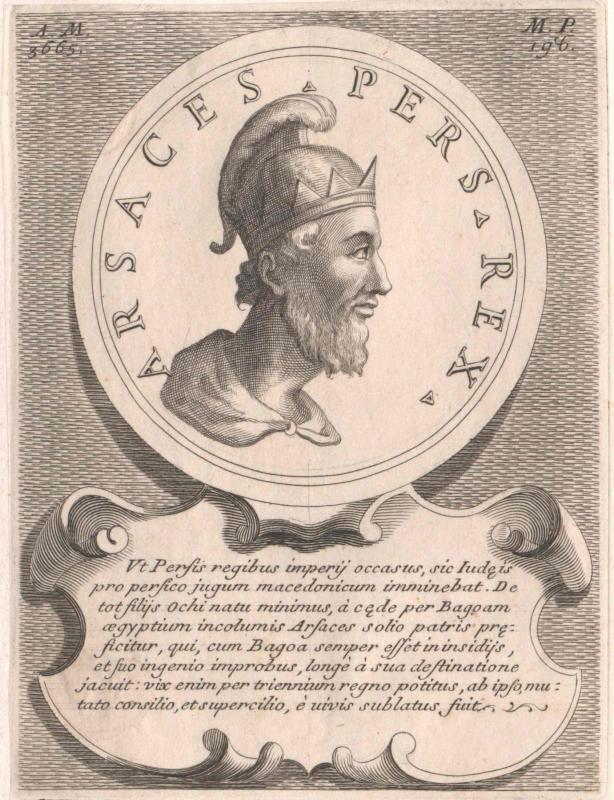 Arsakes I., König der Perser