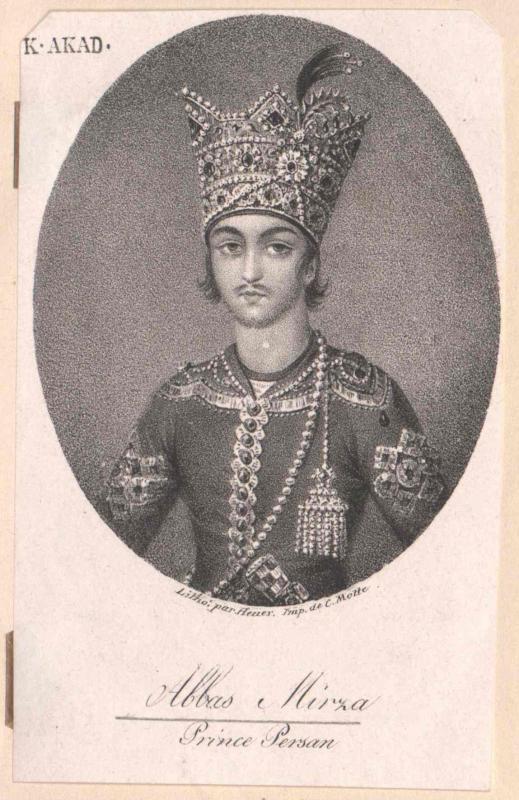 Abbas Mirza, Prinz von Persien