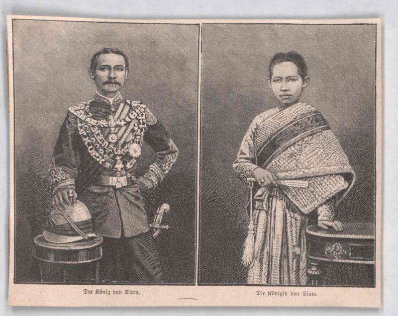 Chulalongkorn, König von Siam