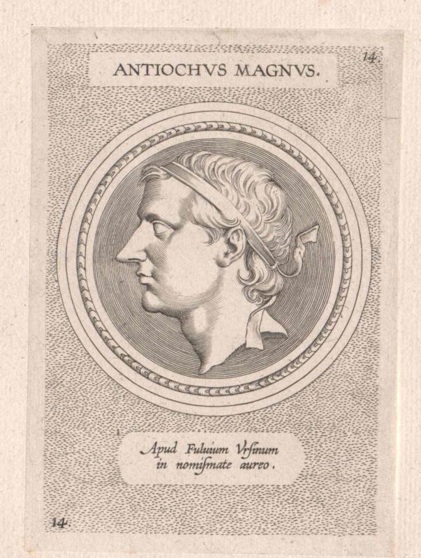 Antiochus III. der Große, König von Syrien