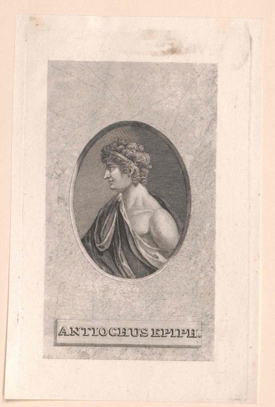 Antiochus IV. Epiphanes, König von Syrien
