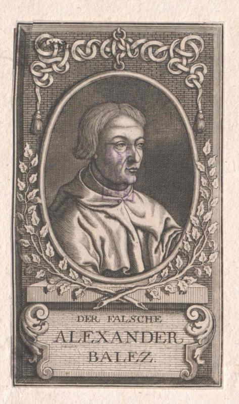 Alexander I. Balas, König von Syrien