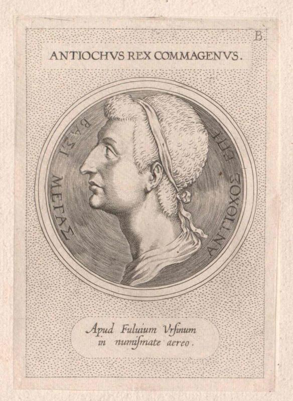 Antiochus XIII. Asiaticus, König von Syrien