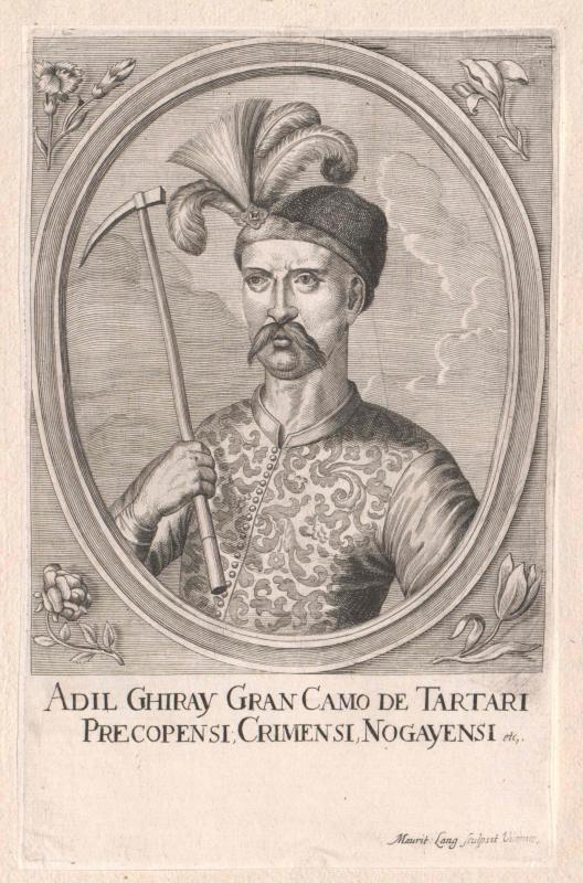 Adil Giray, Khan der Tataren