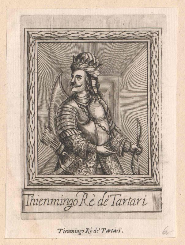 Thienmingo, Großkhan der Tataren