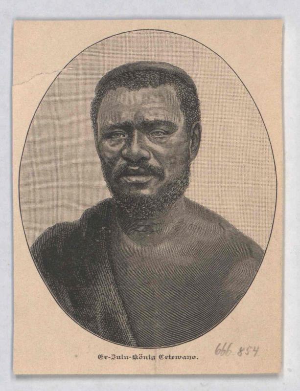 Cetewayo, König von Zululand