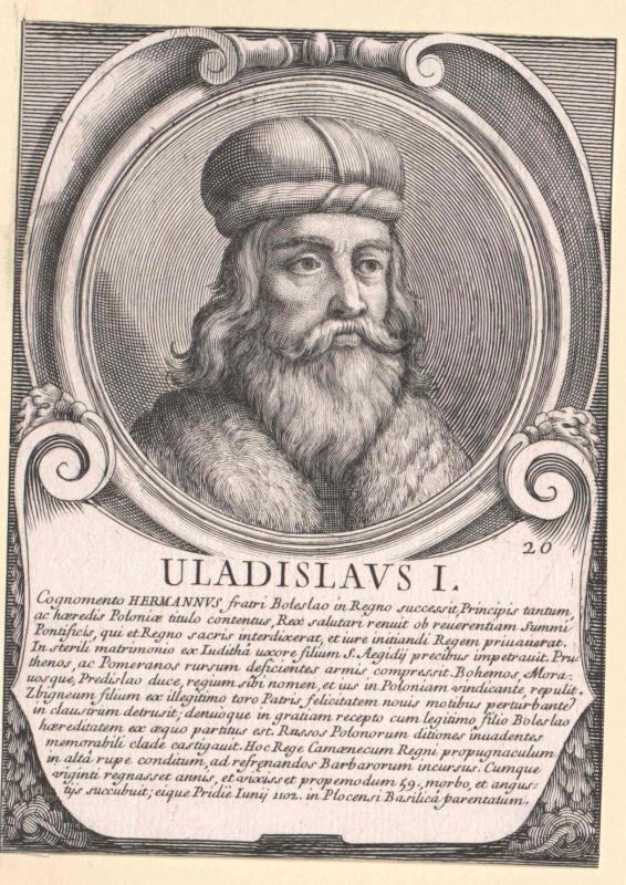 Wladislaw I. Hermann, Herzog von Polen