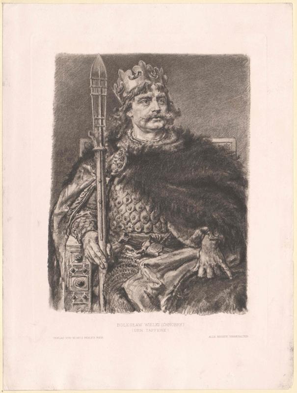 Boleslaw I., König von Polen