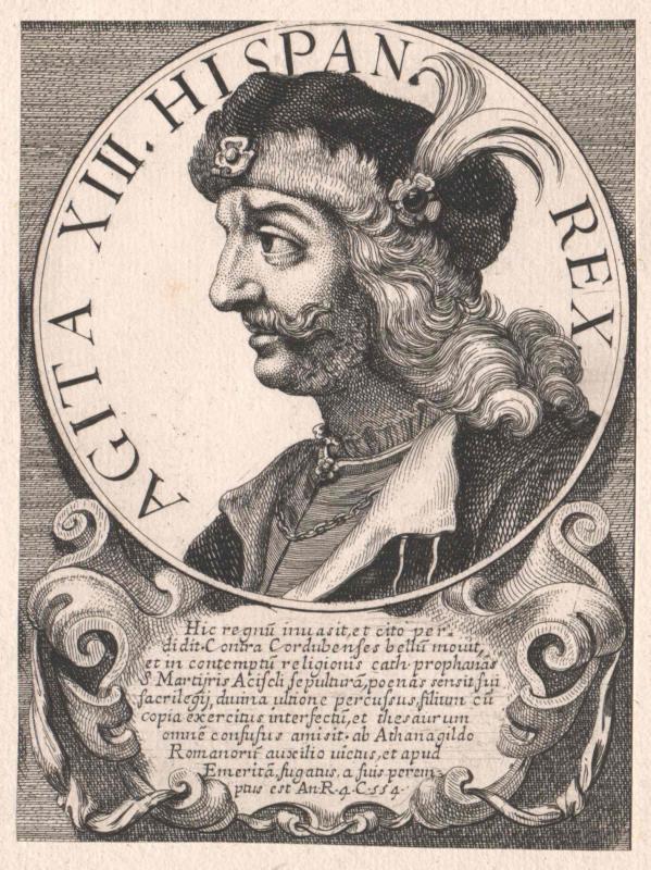 Agila I., König der Westgoten