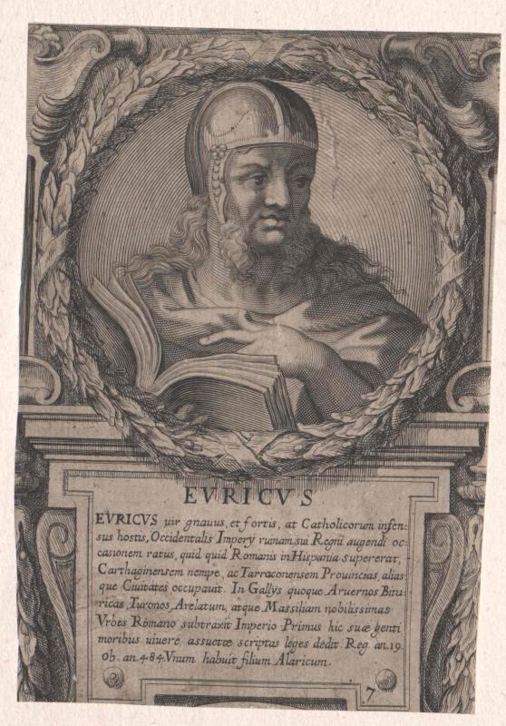 Eurich, König der Westgoten