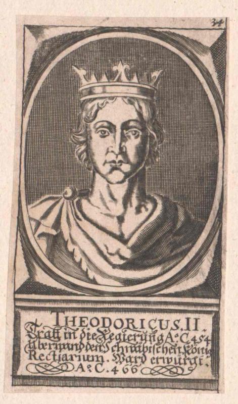 Theoderich II., König der Westgoten