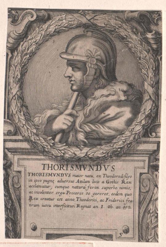 Thorismund, König der Westgoten