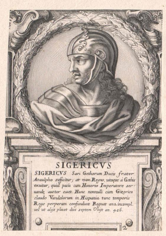 Sigerich, König der Westgoten