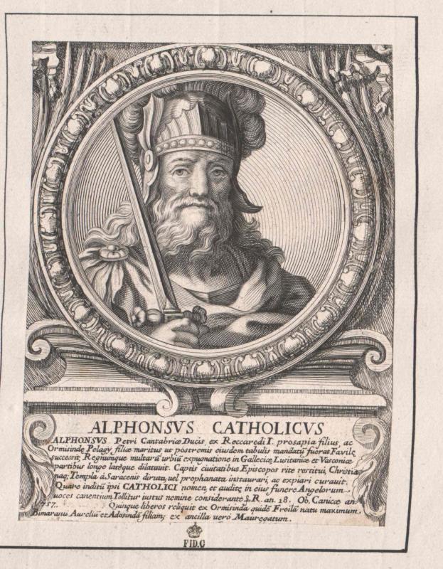 Alfons I., der Katholische, König von Asturien