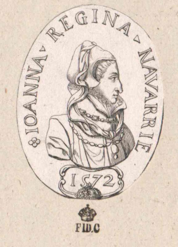 Johanna d'Albret, Königin von Navarra