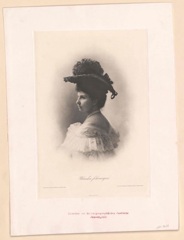 Blanka von Castilien, Prinzessin von Bourbon