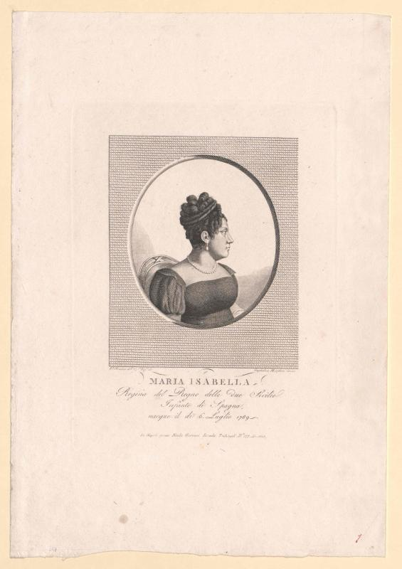 Maria Isabella, Infantin von Spanien