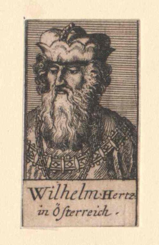 Wilhelm II. der Höfliche, Herzog von Österreich