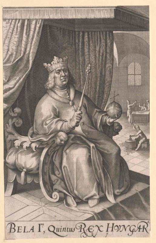 Béla I., König von Ungarn