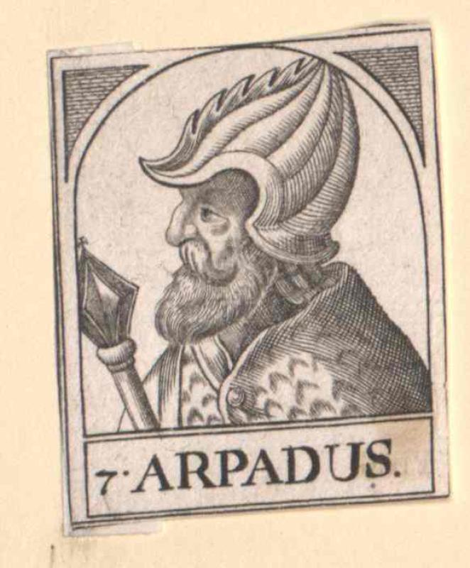 Árpád, Fürst von Ungarn