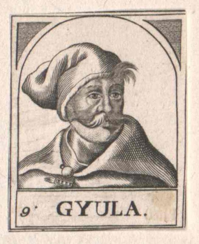 Gyula, Fürst in Ungarn