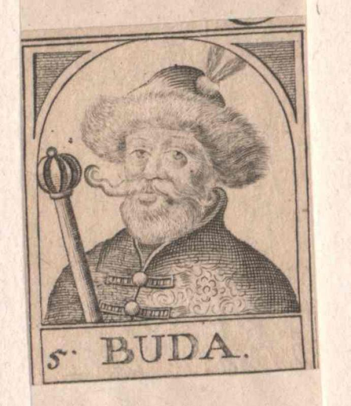 Buda, Fürst der Hunnen