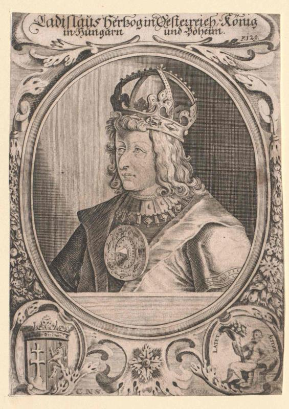 Ladislaus Postumus, König von Ungarn