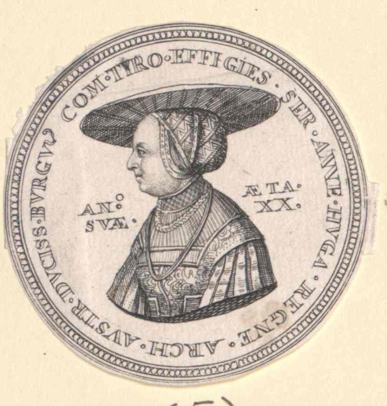 Anna, Prinzessin von Böhmen Ungarn