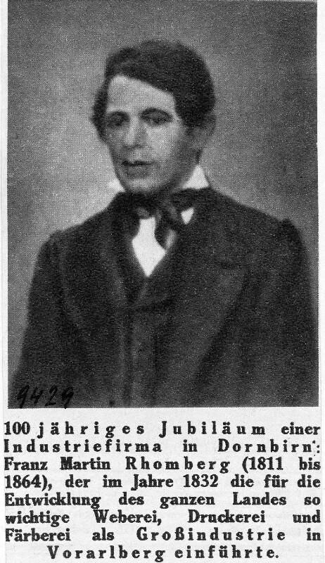 Franz Martin Rhomberg