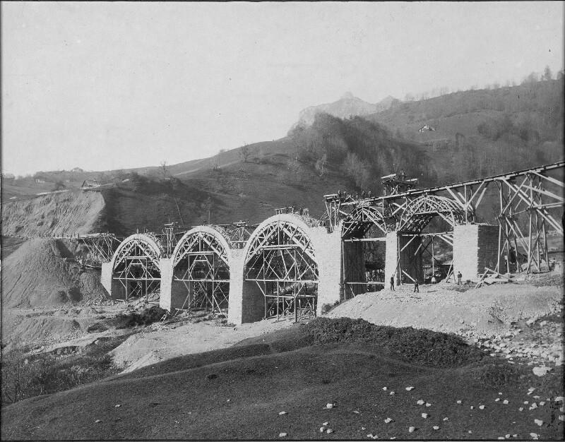 Hölltobelviadukt der Arlbergbahn