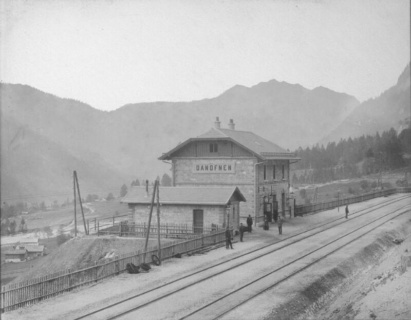 Arlbergbahnhof Danöfen