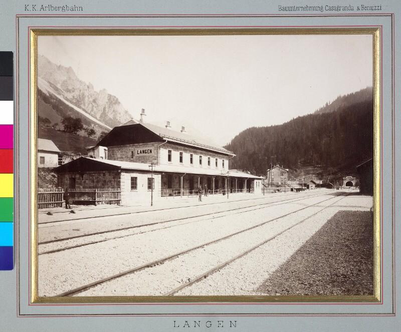Arlbergbahnhof Langen