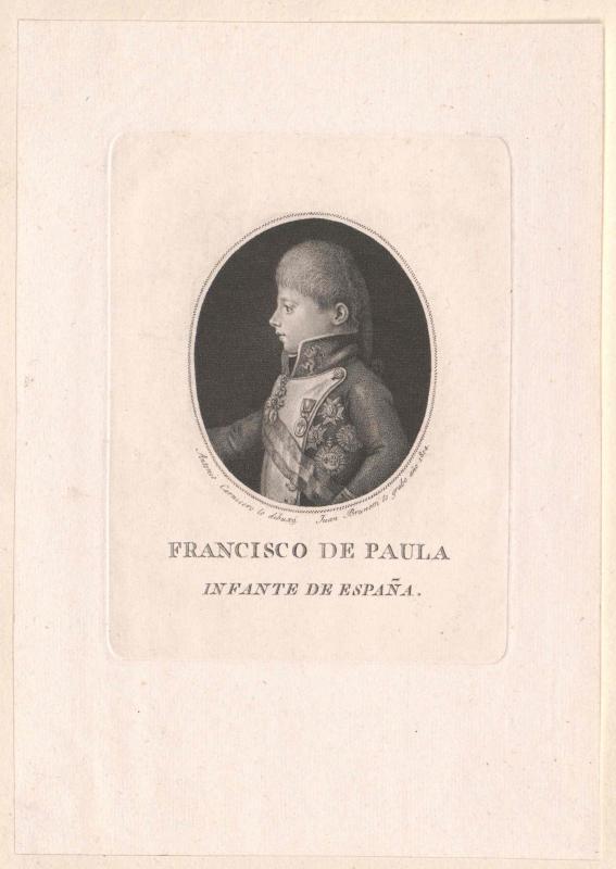 Franz de Paula, Infant von Spanien