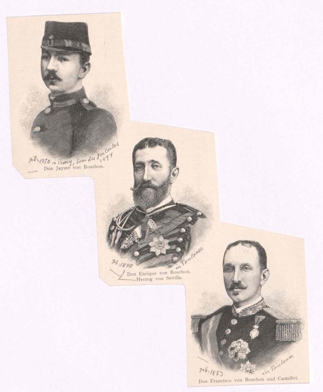 Heinrich von Bourbon, Infant von Spanien, Herzog von Sevilla