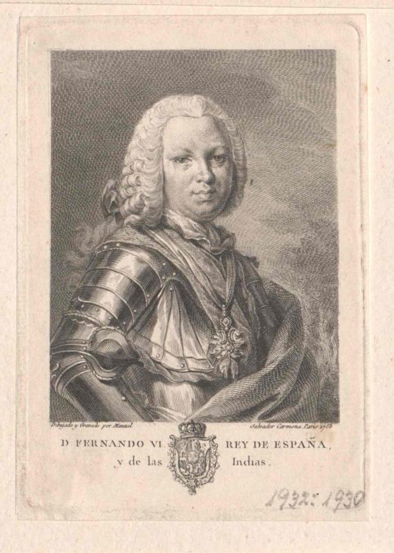 Ferdinand VI., König von Spanien