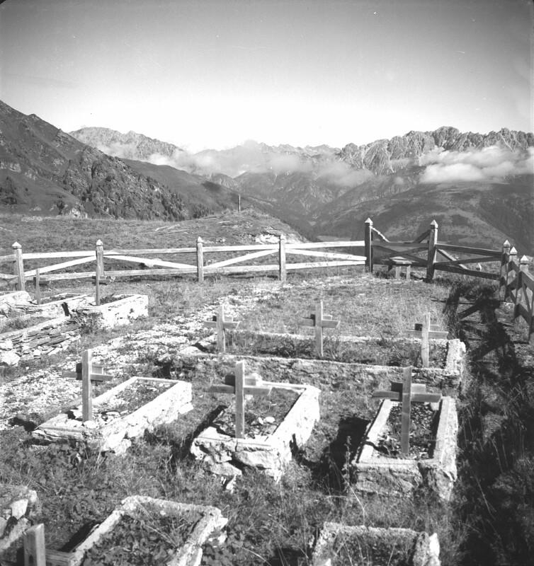 Soldatenfriedhof im Ebnertal