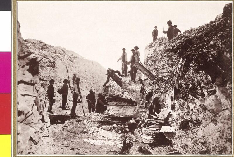 """""""Vom Lawinensturz in Bleiberg""""  am 25. Februar 1879"""