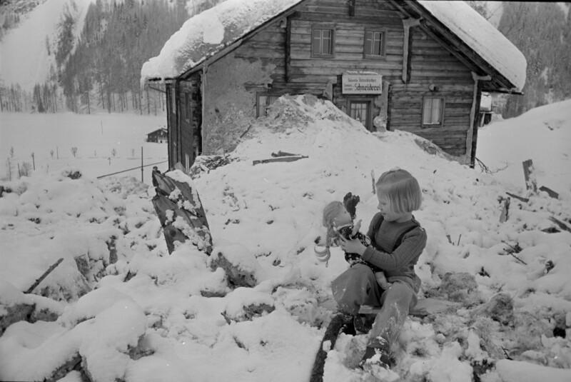 Lawinenkatastrophe in Heiligenblut - Spittal/Drau am 21. Januar 1951