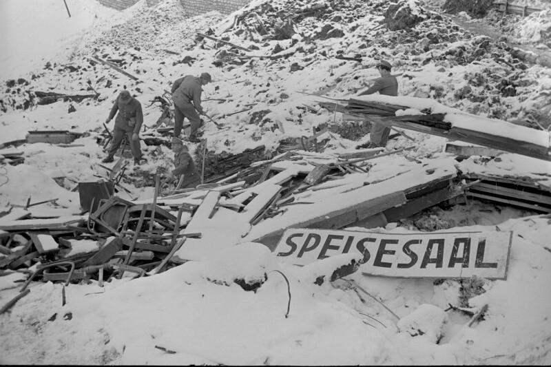 Lawinenkatastrophe in Heiligenblut- Spittal/Drau am 21. Januar 1951
